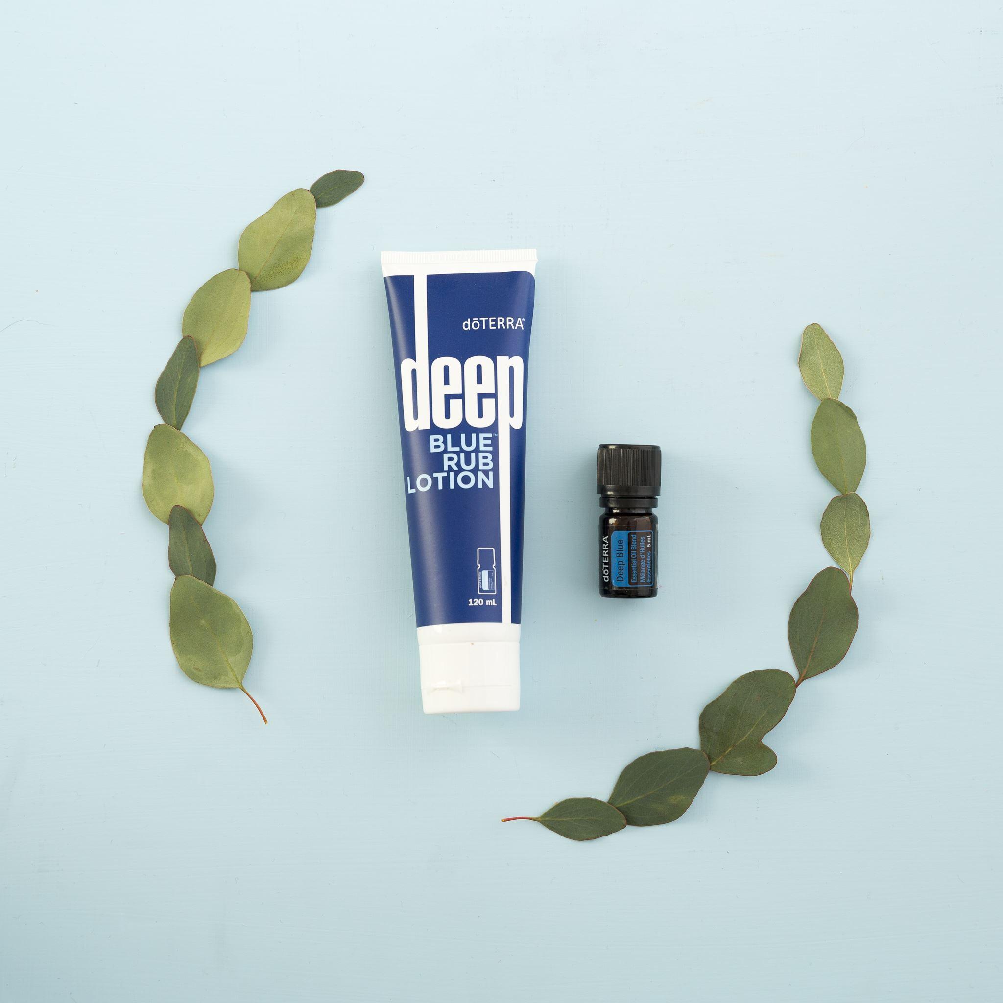 Deep Blue® Rub and 5 mL Deep Blue® essential oil