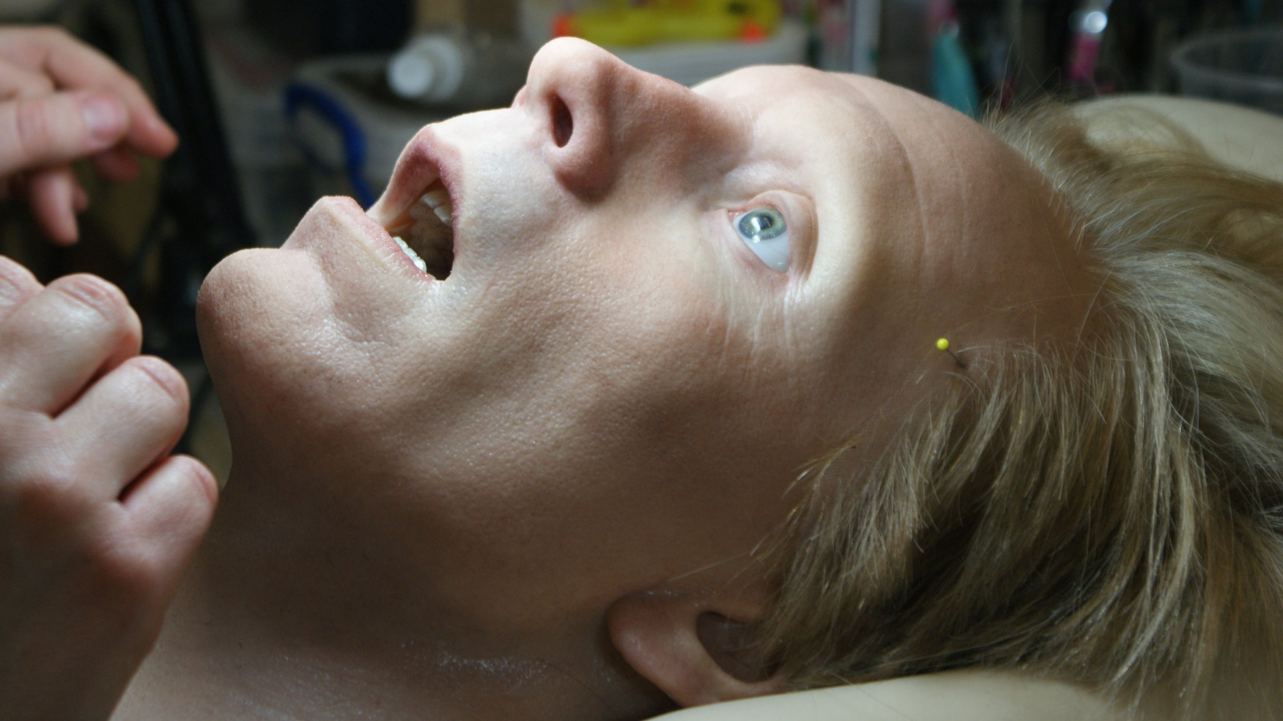 'Animatronic David Head' Prometheus