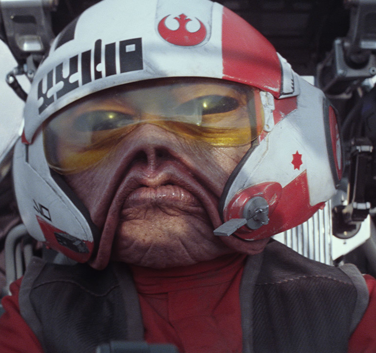 'Nien Nunb' Star Wars The Force Awakens.