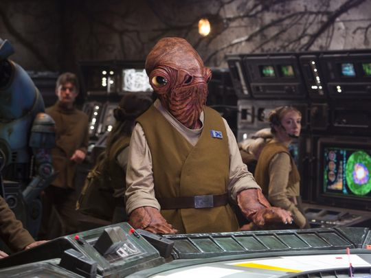 'Admiral Ackbar' Star Wars The Force Awakens.