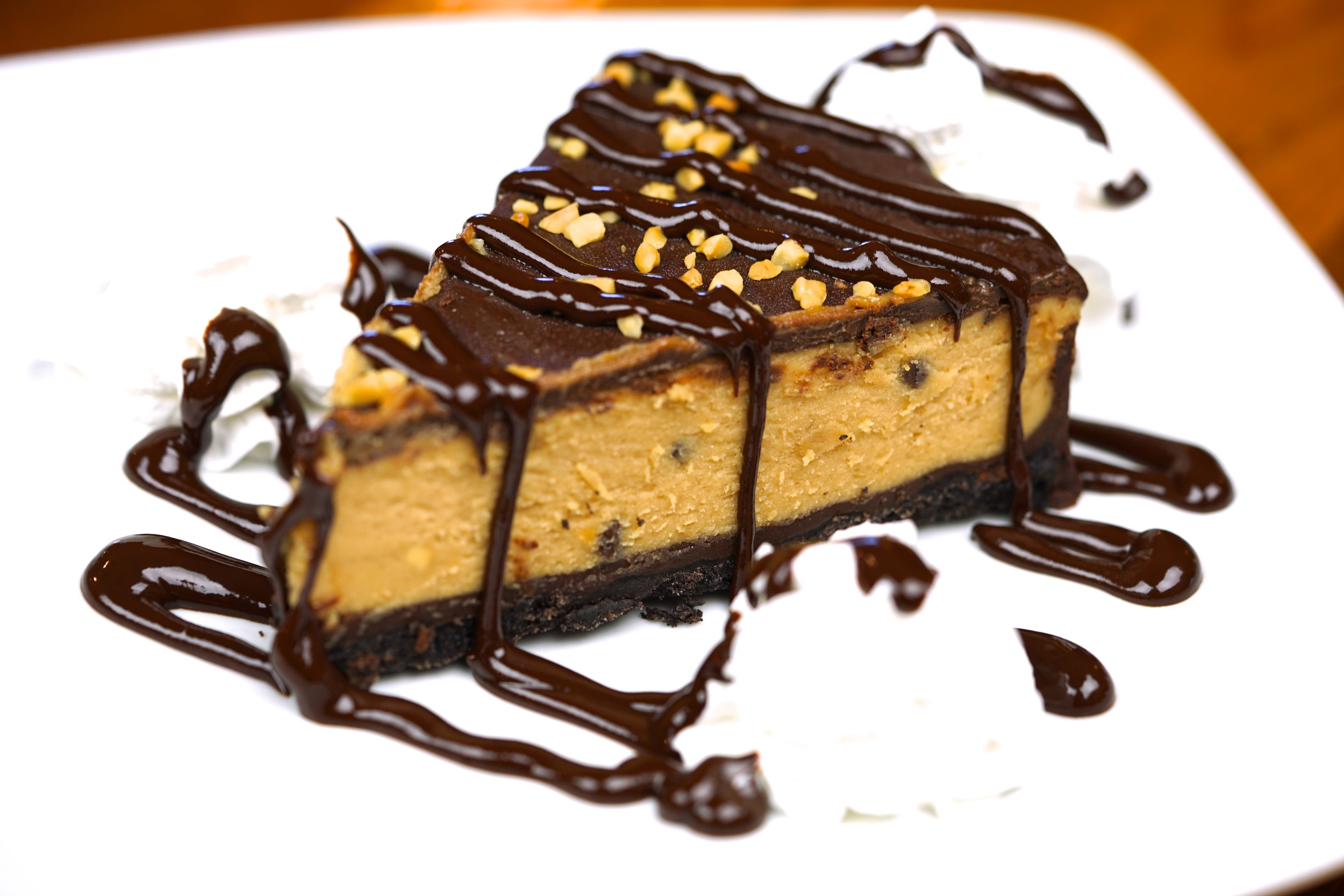 Peanut Butter Pie - homemade and decadent