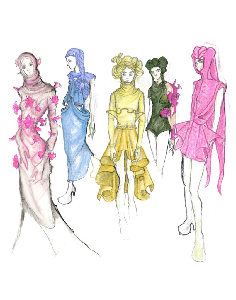 Sketches by designer Supawish Boonprasart. Click for more information.