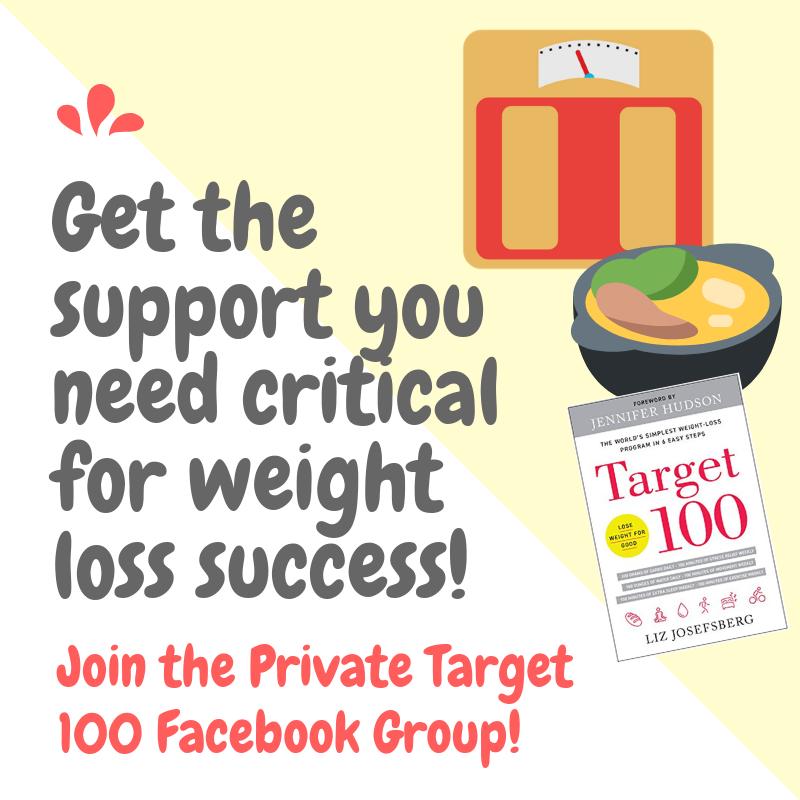 Target 100_Liz Josefsberg_easy weight loss_quick weight loss