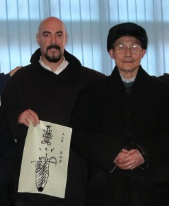Dr. Johnson & Senior Abbot Qiu Yu Song