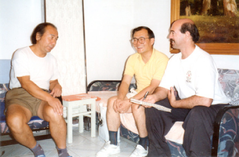 Dr. Zheng Zhan Ding, Dr. Ma, and Dr. Johnson (Beijing, China)