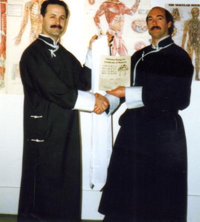Shifu Joseph Crandall and Dr. Johnson, (Monterey, California)