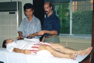 Dr. Johnson and Professor Teng Yingbo (Beijing, China)
