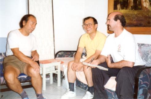 Dr. Zheng Zhan Ding, Dr. Ma, & Dr. Johnson (Beijing, China)