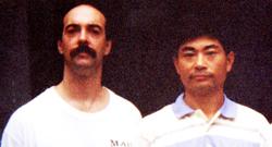 Training With Master Zheng Yu Fei Beijing, China