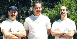 Shifu Joseph Crandall, Shifu Mike Sigman and Shifu Jerry Alan Johnson (Pacific Grove, California)