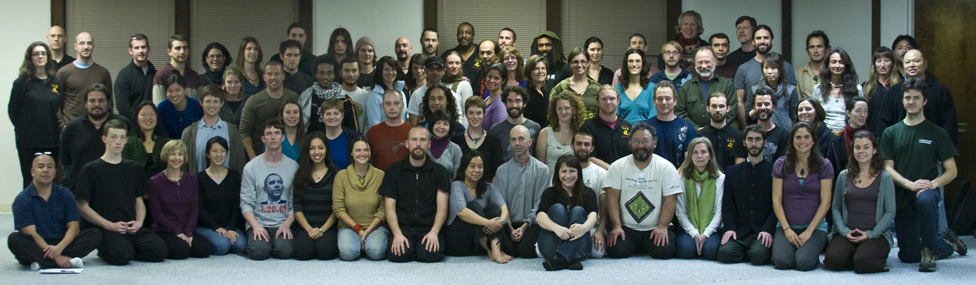 2009 – Beginning The Medical Qigong Doctor Program (Some Students Gather For A Group Photo )