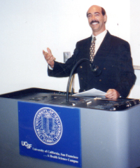 1997 – Dr. Jerry Alan Johnson Lecturing at the University of California, San Francisco, Sponsored by the American College of T.C.M.
