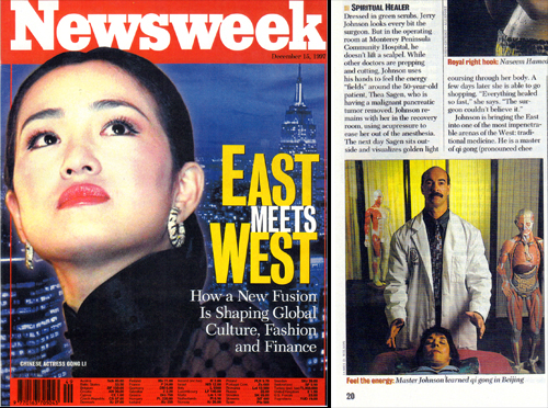 1997- Featured in Newsweek Magazine (As a Spiritual Healer)