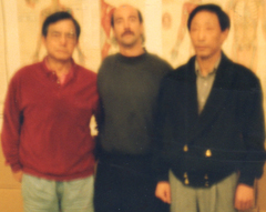 Shifu Henry Look, Shifu Jerry Alan Johnson, and Shifu Park Bok Nam (Pacific Grove, California)