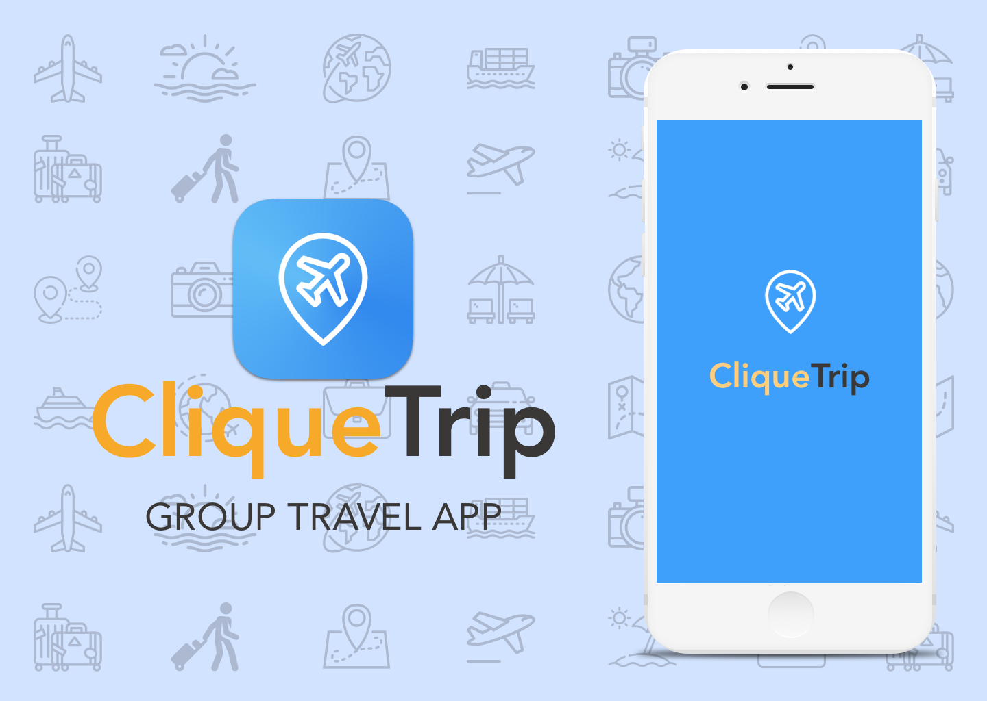 Clique Trip - Designed a mobile application for group travelers to plan and manage their itinerary and payments for expenses in one place to create a more enjoyable experience.Learn more ➝