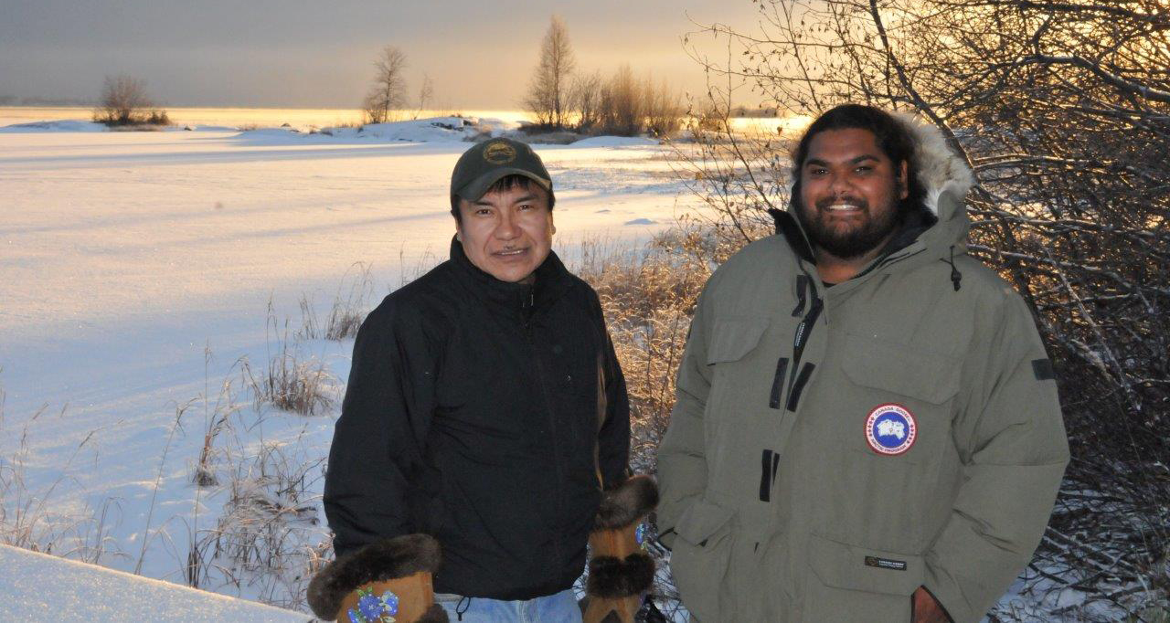 In 2014, a delegation of Indigenous Rangers from Australia came to Canada's Northwest Territories to exchange experiences with Indigenous Guardians and others working to manage lands. (Photo: Patrick O'Leary)