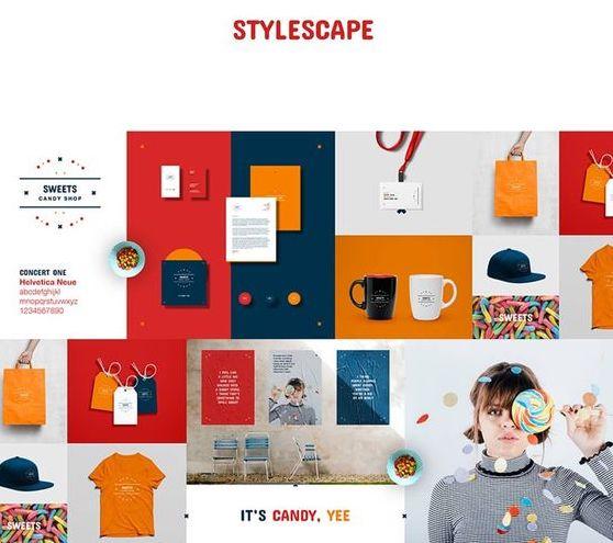 Exemples de Stylescape -