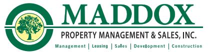 SALES INQUIRIES:   Maddox Property Management & Sales, Inc.       Contact:      Brandon Clark    (865) 805-5502     Steve Maddox   (865) 522-9910
