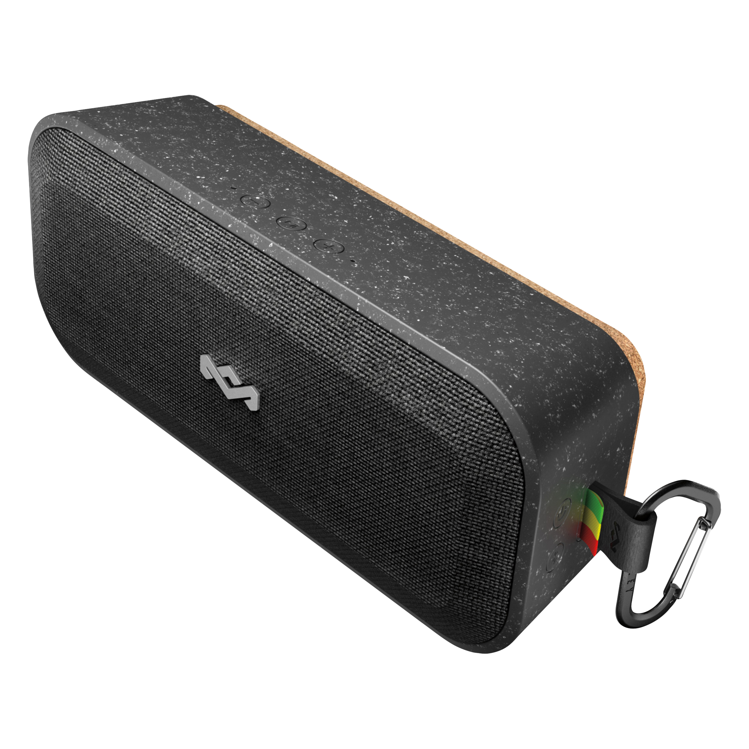 Enceinte Sans Fil De House Of Marley  - Compatibilité Bluetooth - Deux haut-parleurs de 1,5 po et deux radiateurs de graves passifs produisent des aigus et des graves de grande qualité - Haut-parleur intégré qui permet de répondre aux appels