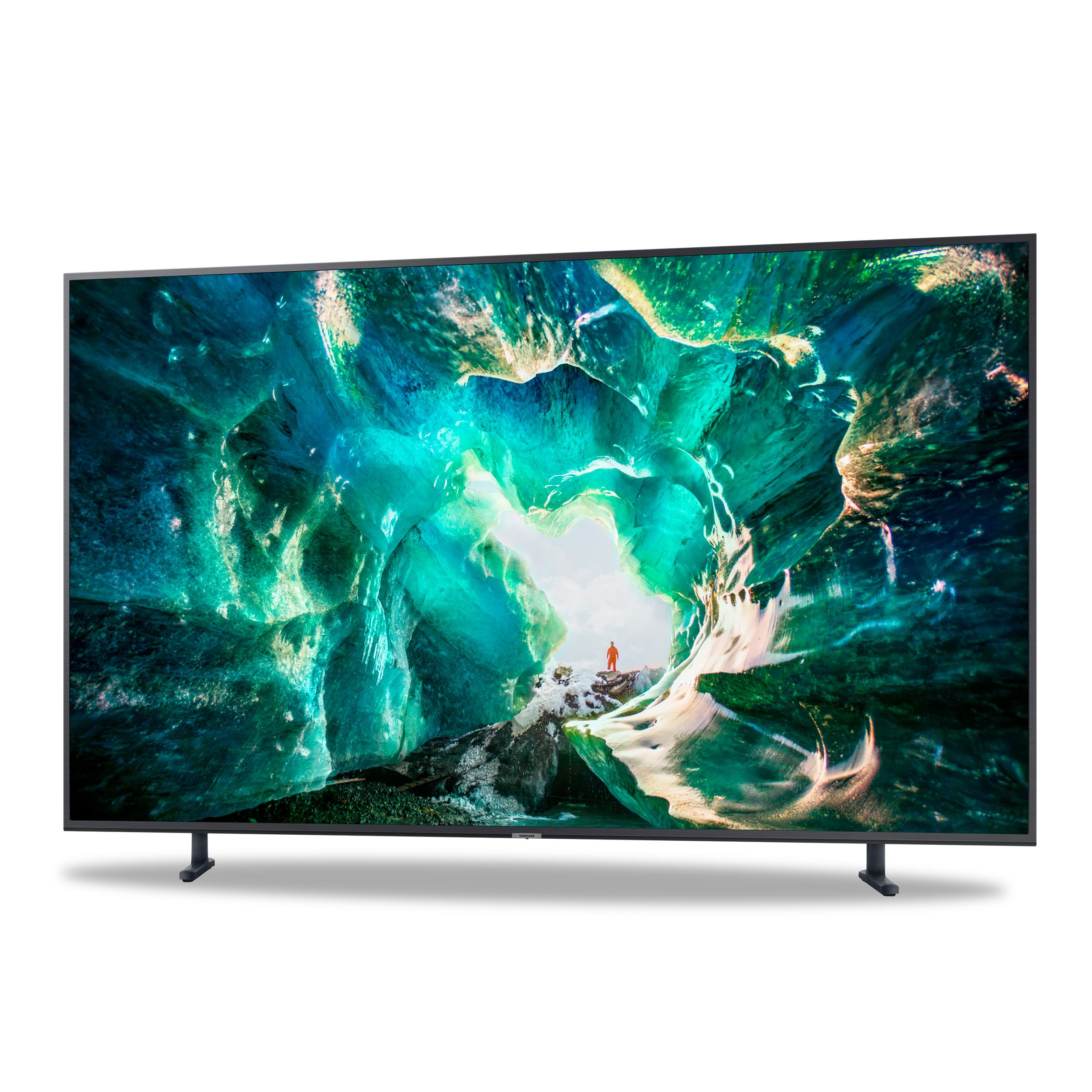 Téléviseur 4K intelligent 55'' de Samsung  - Couleurs impressionnantes sur écran 4K - Commandes vocales avec la fonction Bixby - Inclus des applications populaires