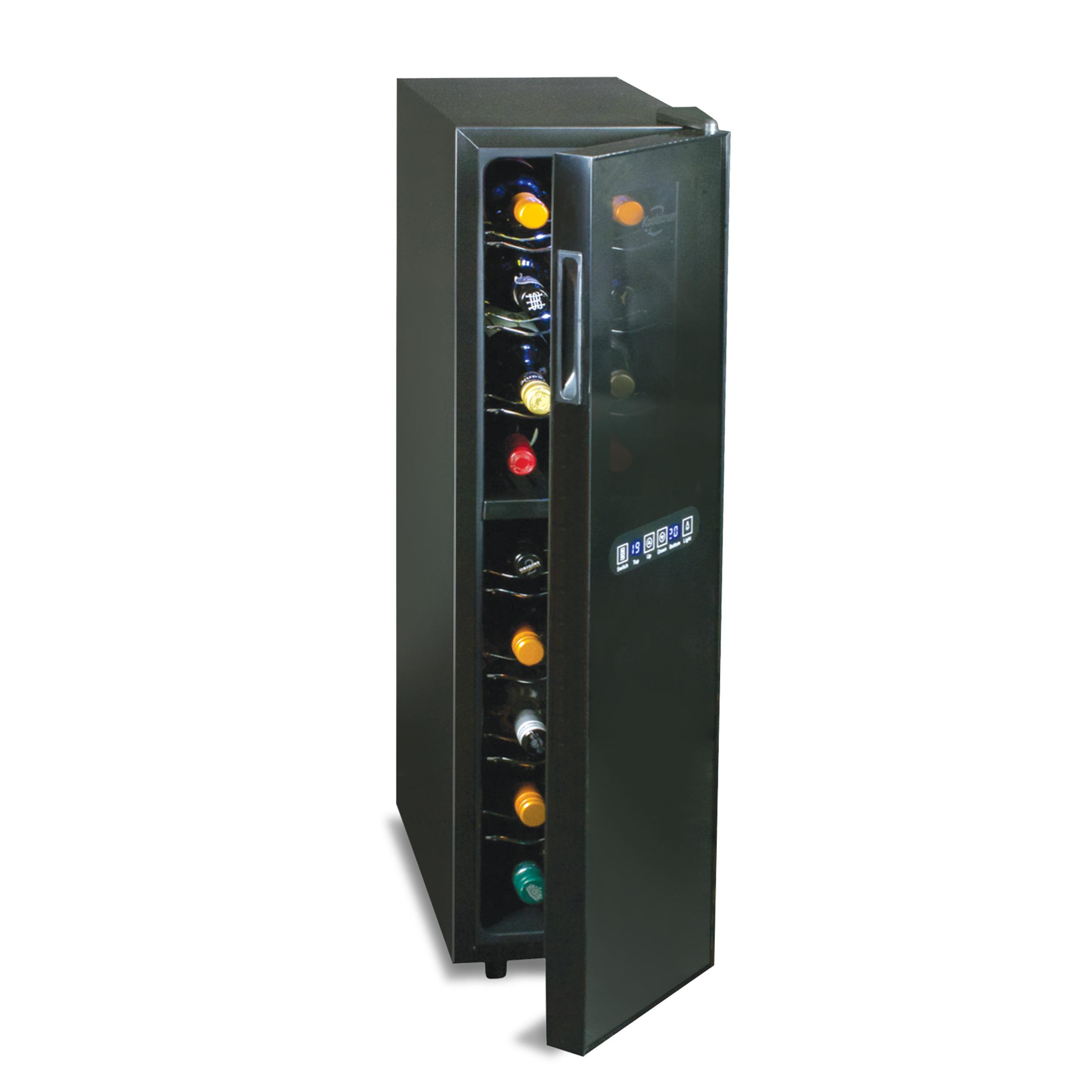 Cellier  - Deux zones de refroidissement indépendantes - Commandes numériques de température - Fonctionnement sans vibration