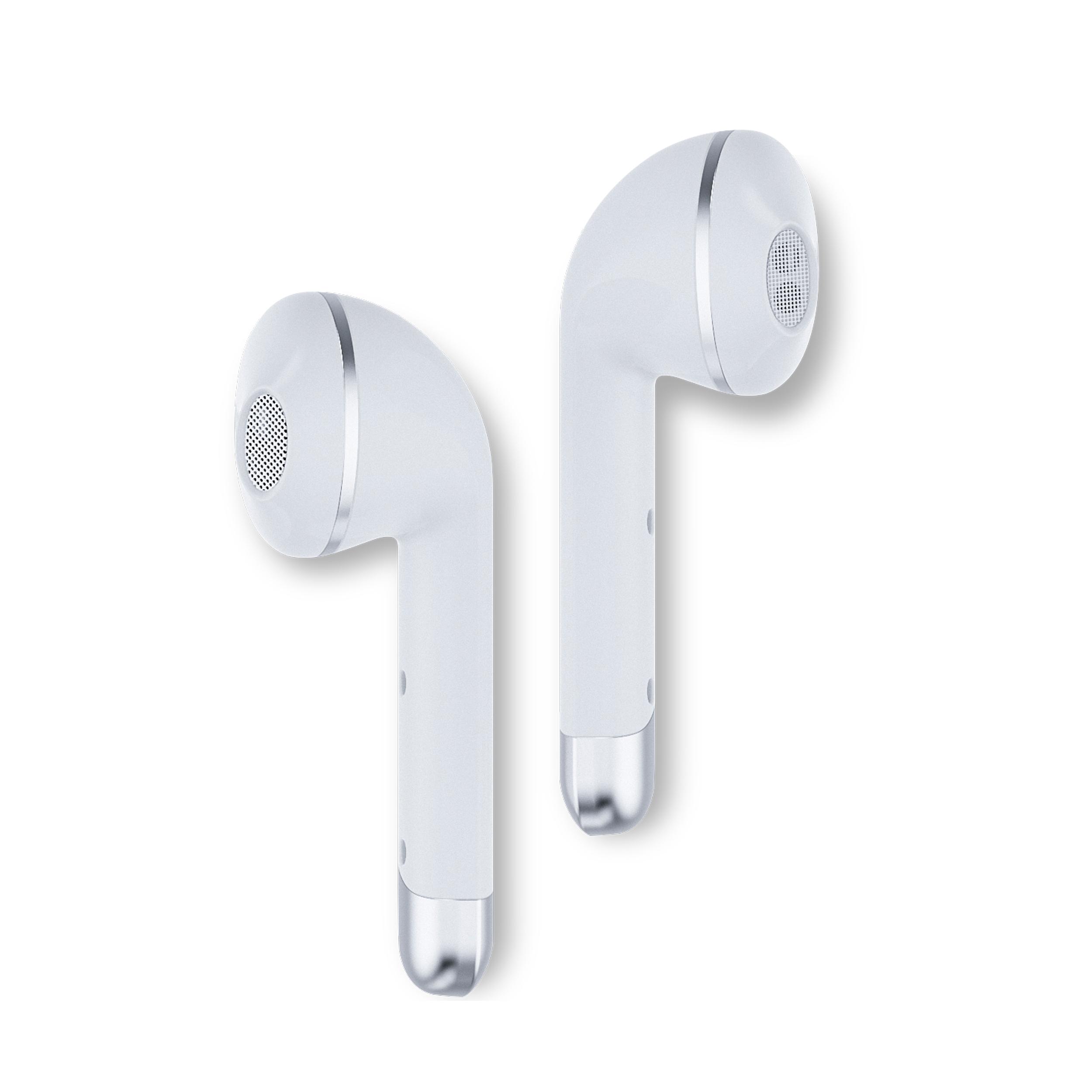 Écouteurs tactiles Happy plugs Air 1  - Connectivité Bluetooth 5.0 - Portée sans fil fiable de 10m - 14 heures d'autonomie