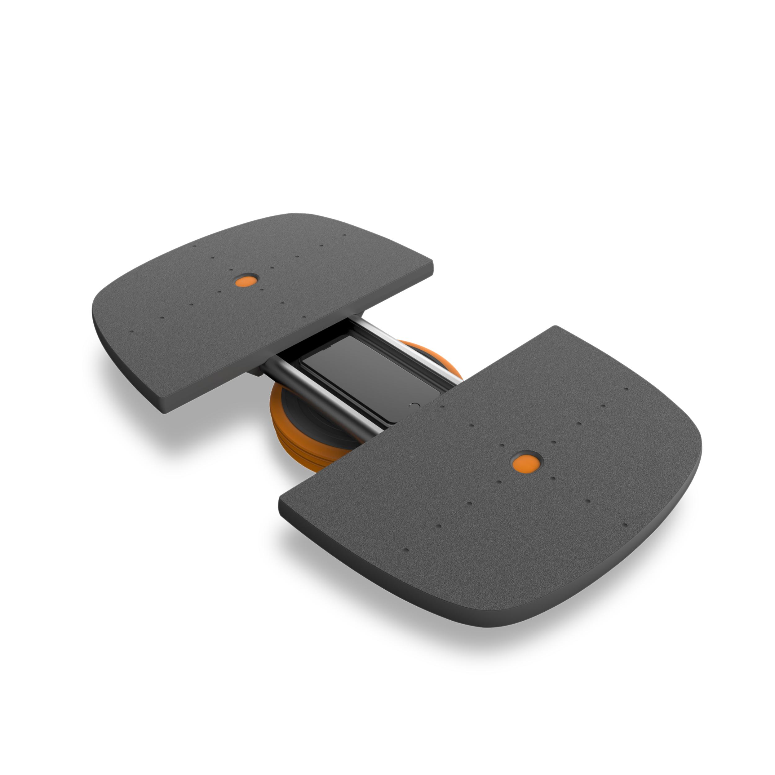 Planche équilibrante M-Pad  - Entraînement complet (équilibre, force, agilité) - Peut soutenir jusqu'à 300 lbs - Application M-Trac pour suivre sur votre téléviseur