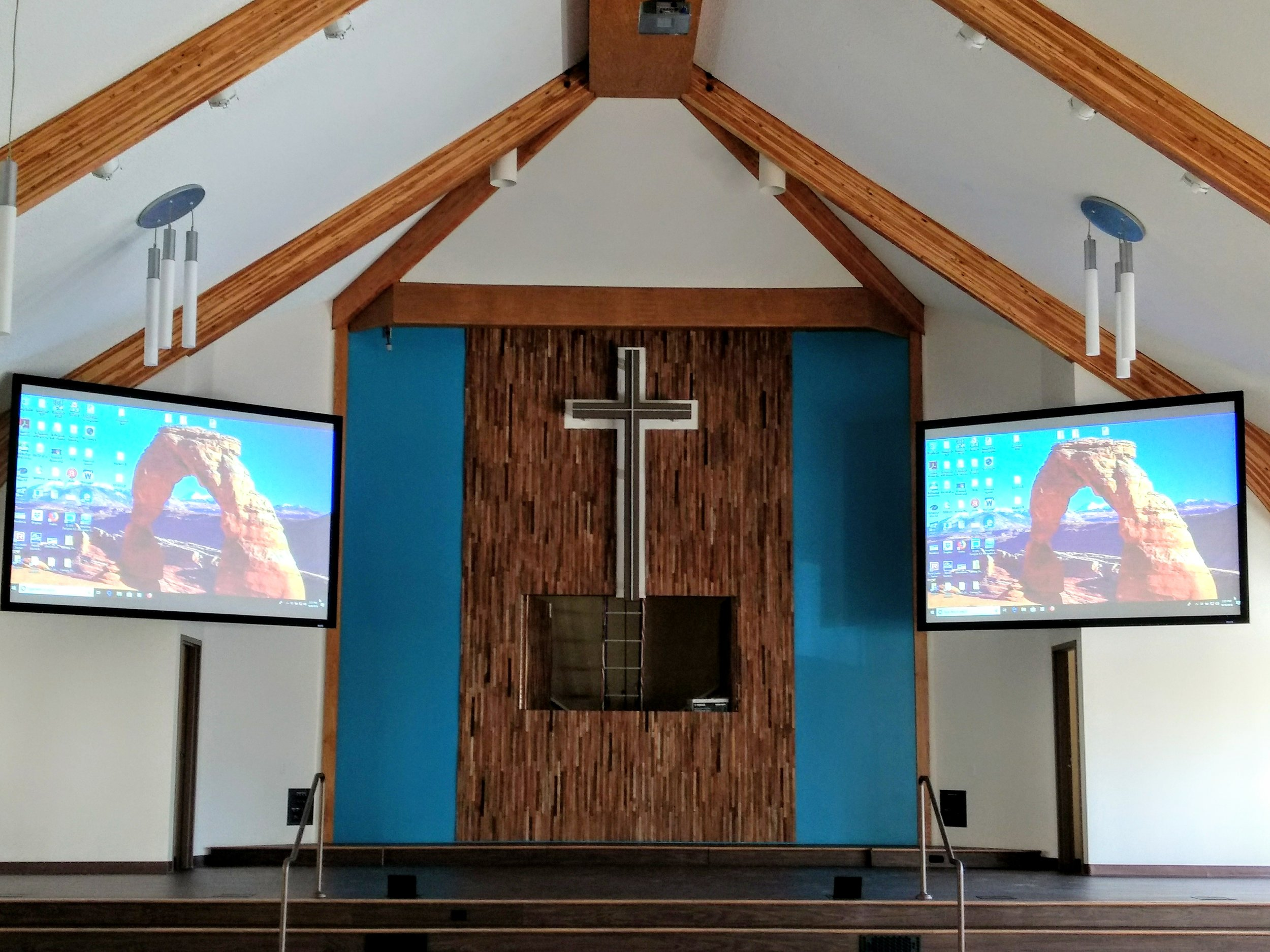 Sanctuary Dedication Service - Come celebrate with us…Sunday, December 2, 2018 9:45 am