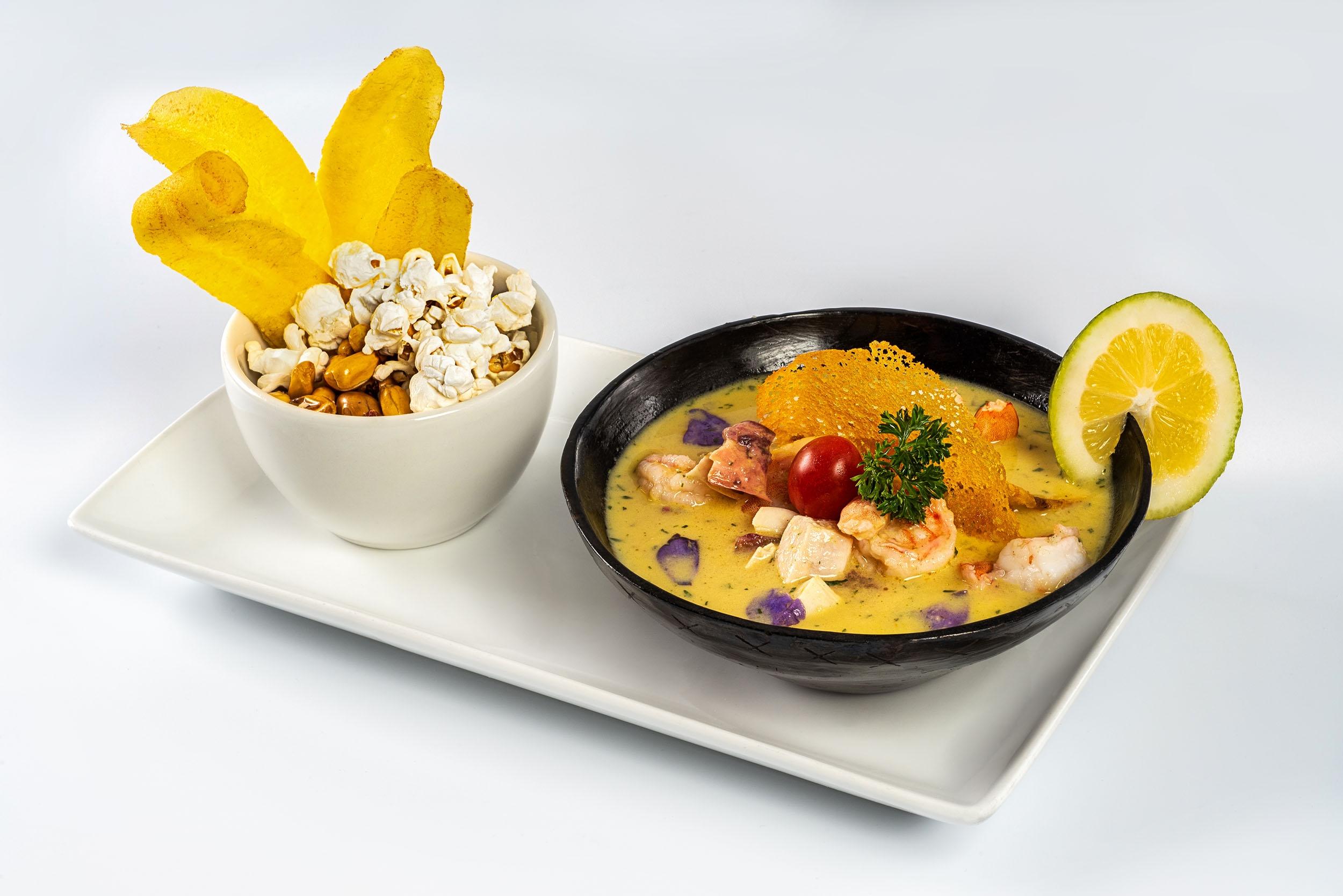 Ceviche Frutos del Mar $10,88
