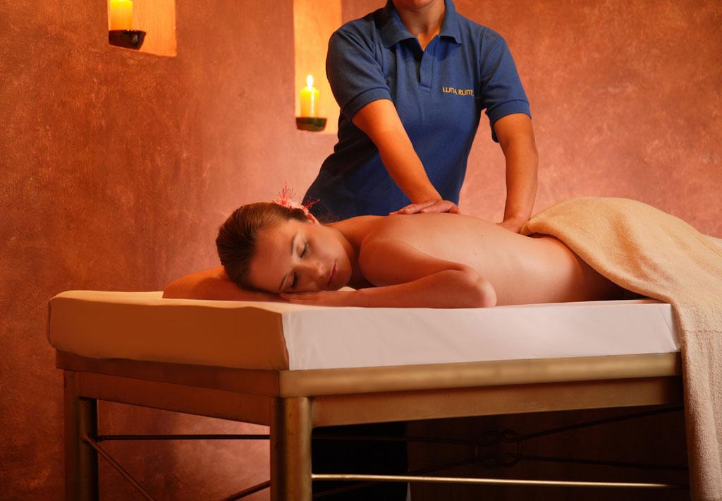 Opción 3 - 1 masaje (1h.) o 2 tratamientos a la carta. $88