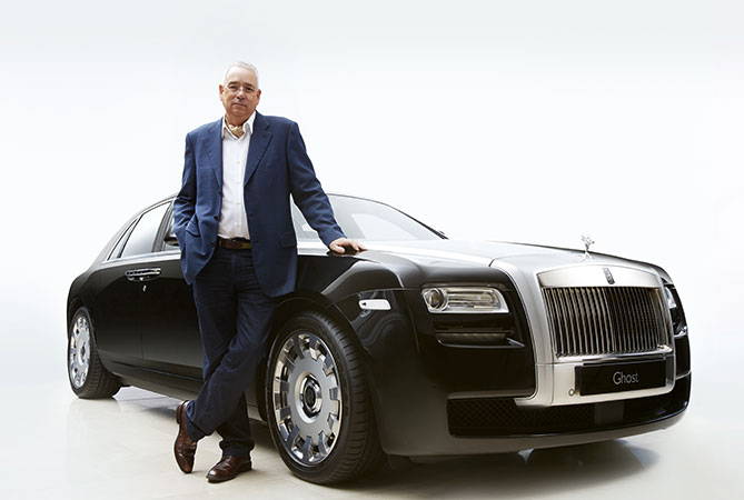 David Boucher's stylish and impeccable work has led to collaborations with serious names in the luxury world – including Rolls-Royce.