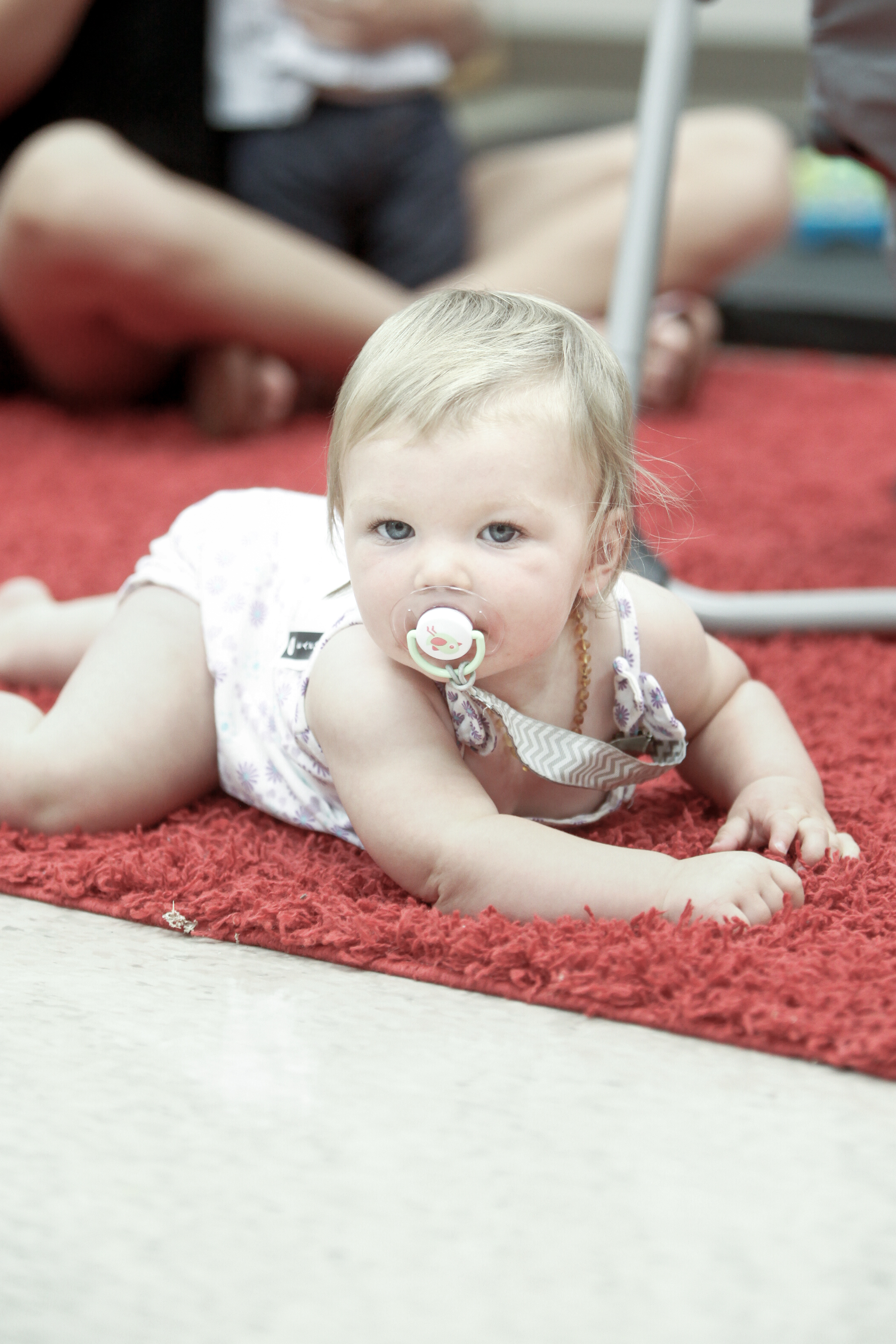 Climbers   Babies are cared for in the Climbers class from the time they are 6 weeks old until they are walking.