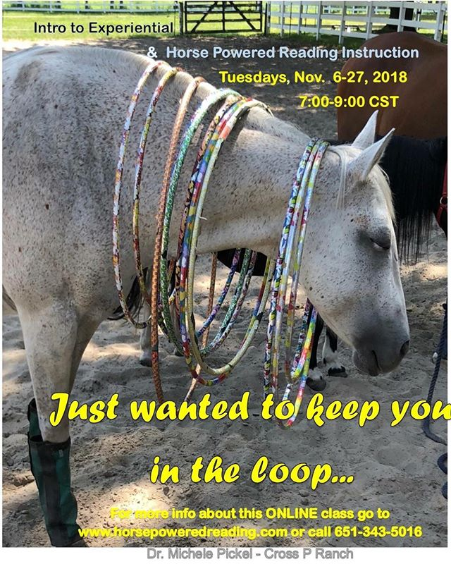 I know this is short notice so please spread the word! #HPR #horsepoweredreading