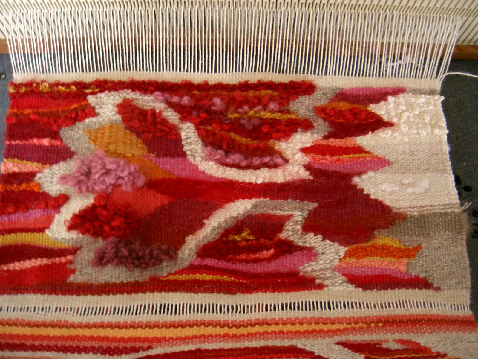 ini tapisserie sur métier à peigne envergeur