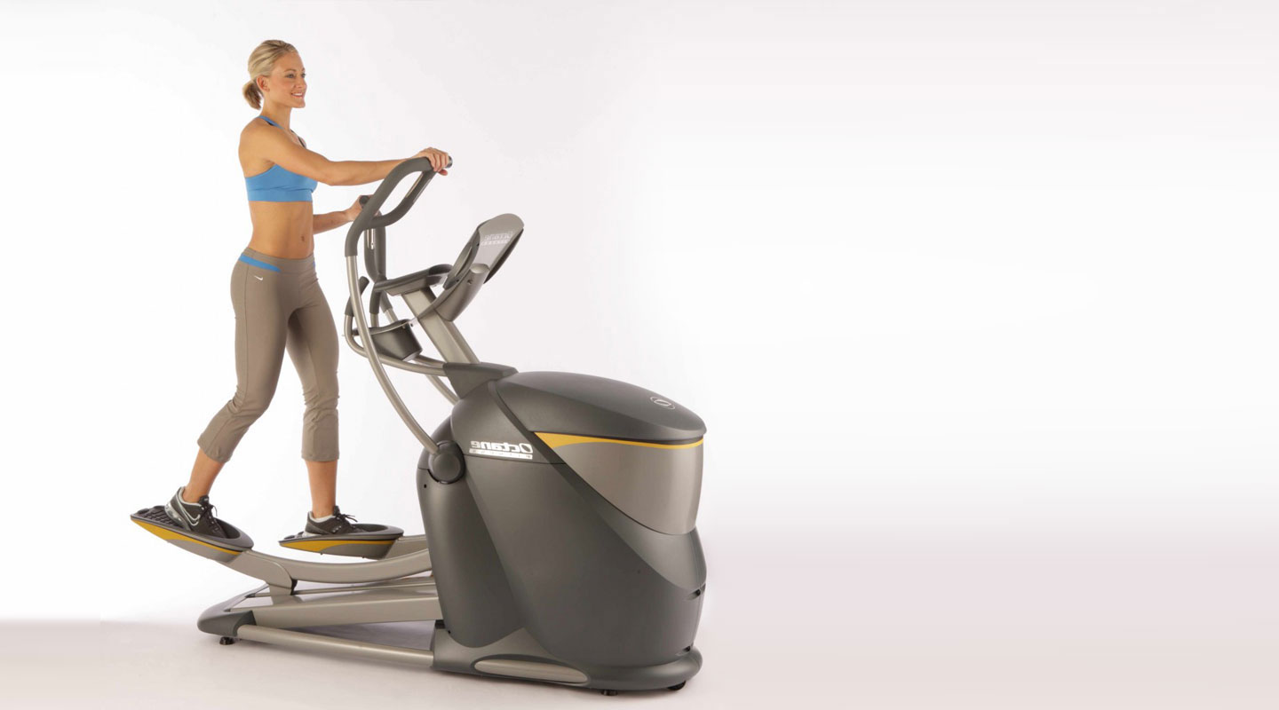 Octane PRO4500 - The absolute best compact home elliptical machine, this top-of-the-line compact powerhouse is loaded with exclusive Octane breakthroughs including SmartStride and CROSS CiRCUIT to fuel every workout with challenges that drive results.  Exceptional comfort comes with Octane's patented MultiGrip and Converging Path handlebars, along with smooth motion that mimics natural movement.