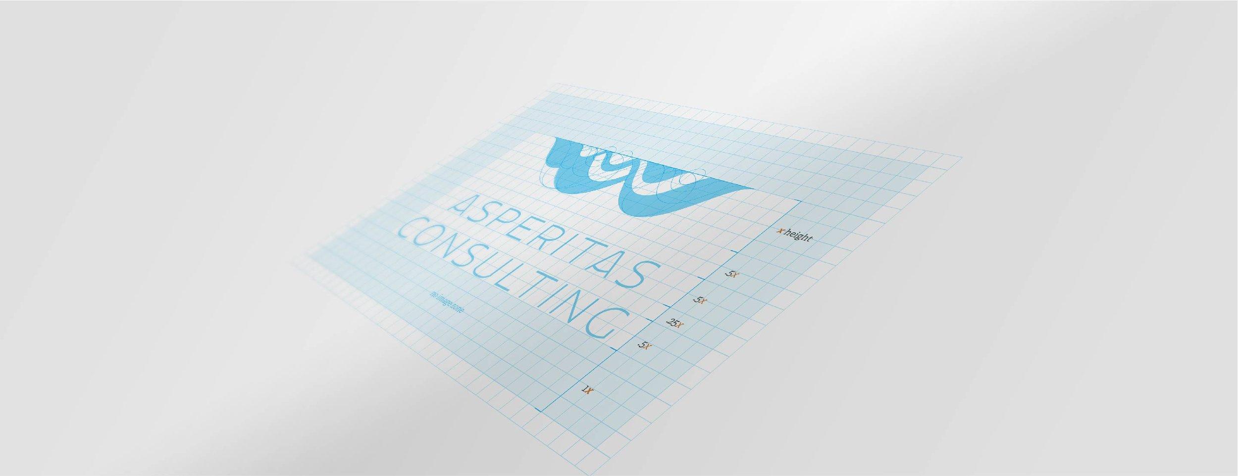 logo evolution 4 Asperitas cloud sercurity storage consulting brand logo stationary graphic design.jpg