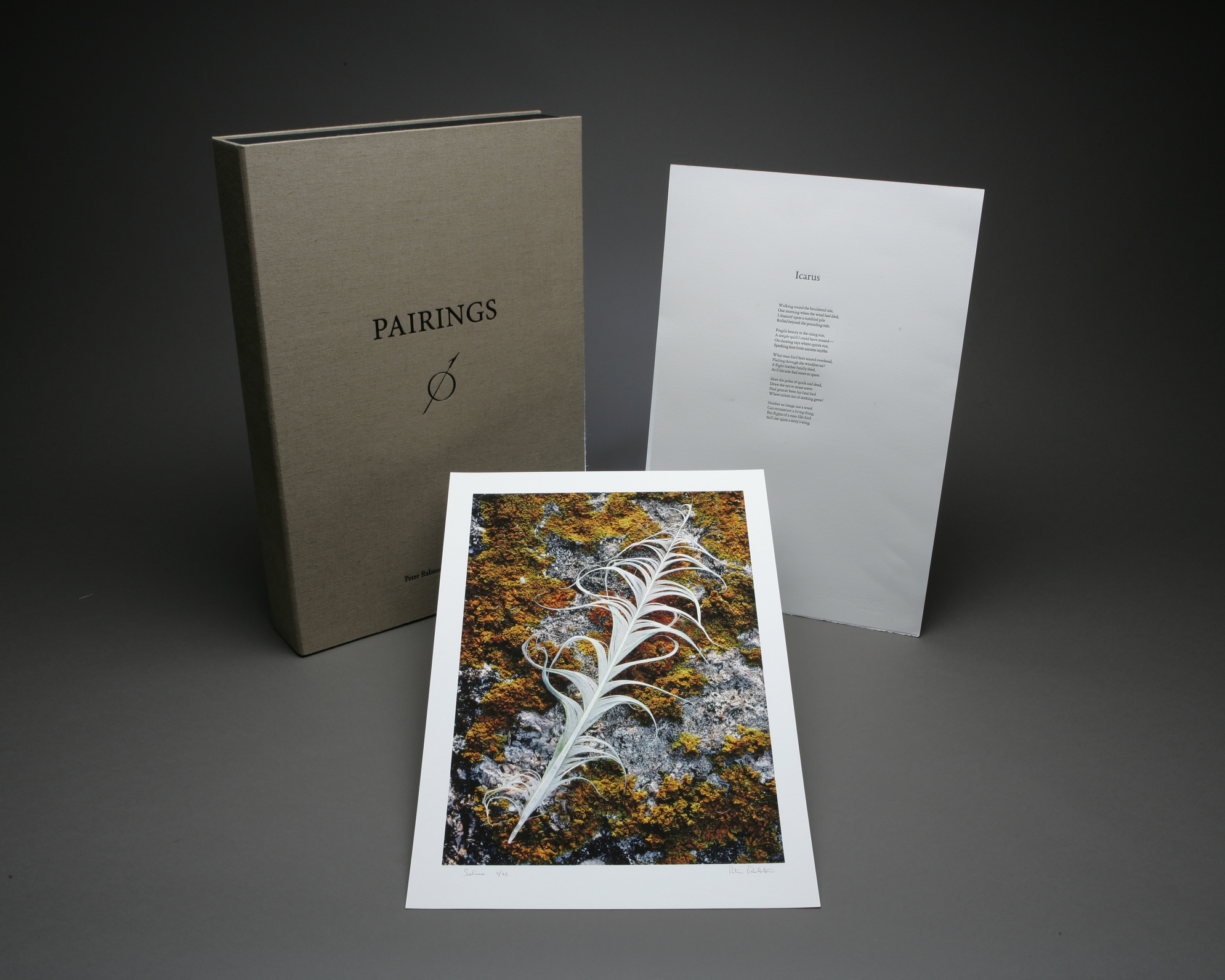 Portfolios and Matted Sets - The Master Prints | Sightings | Pairings are Limited Edition Boxed Sets