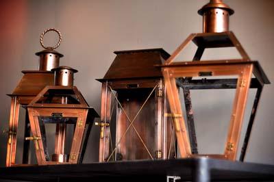 Copper Lanterns Exterior Light Install Rooforia Lincoln Omaha Nebraska Roofing Contractor