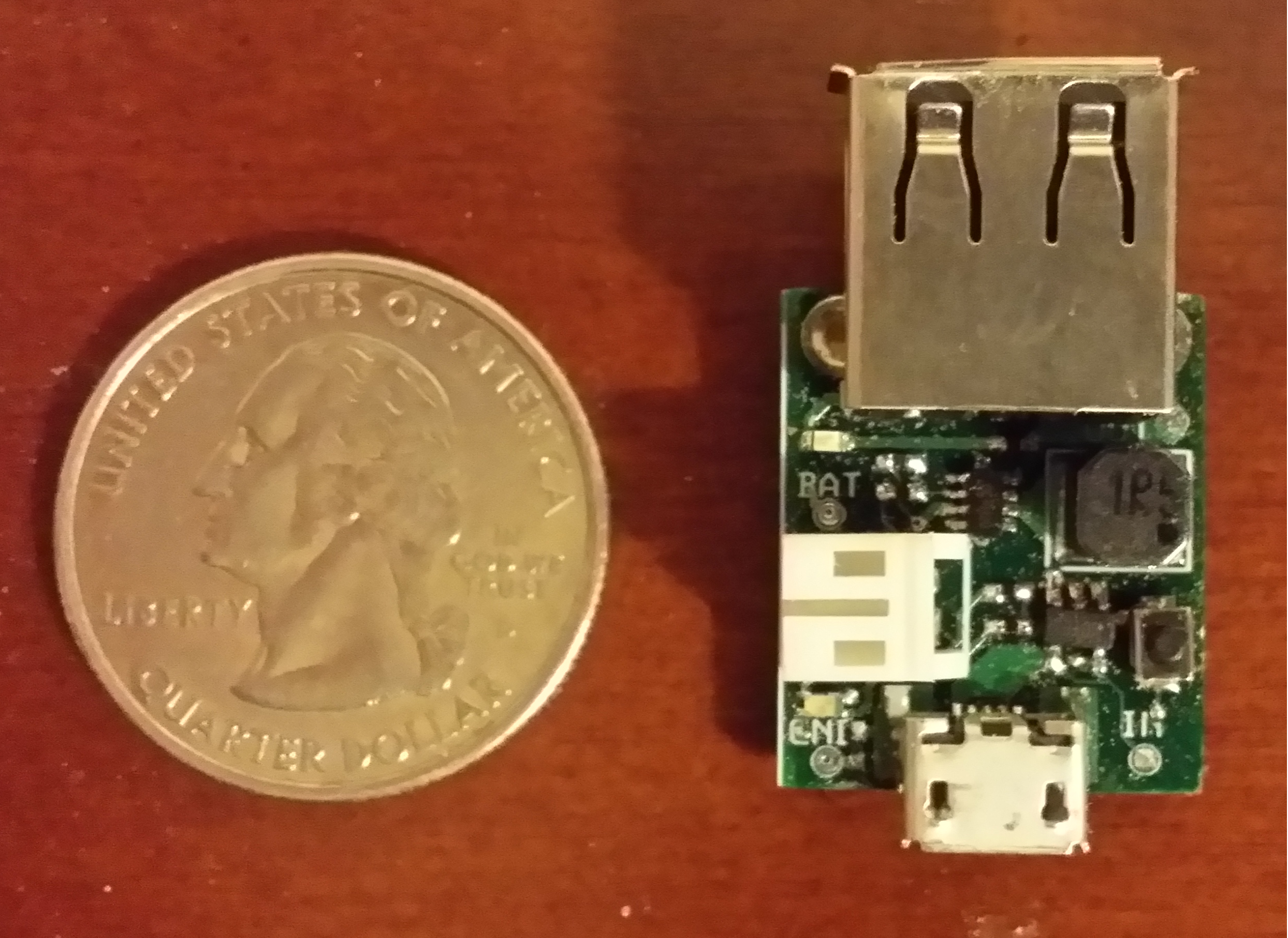 Charger PCB, Top View