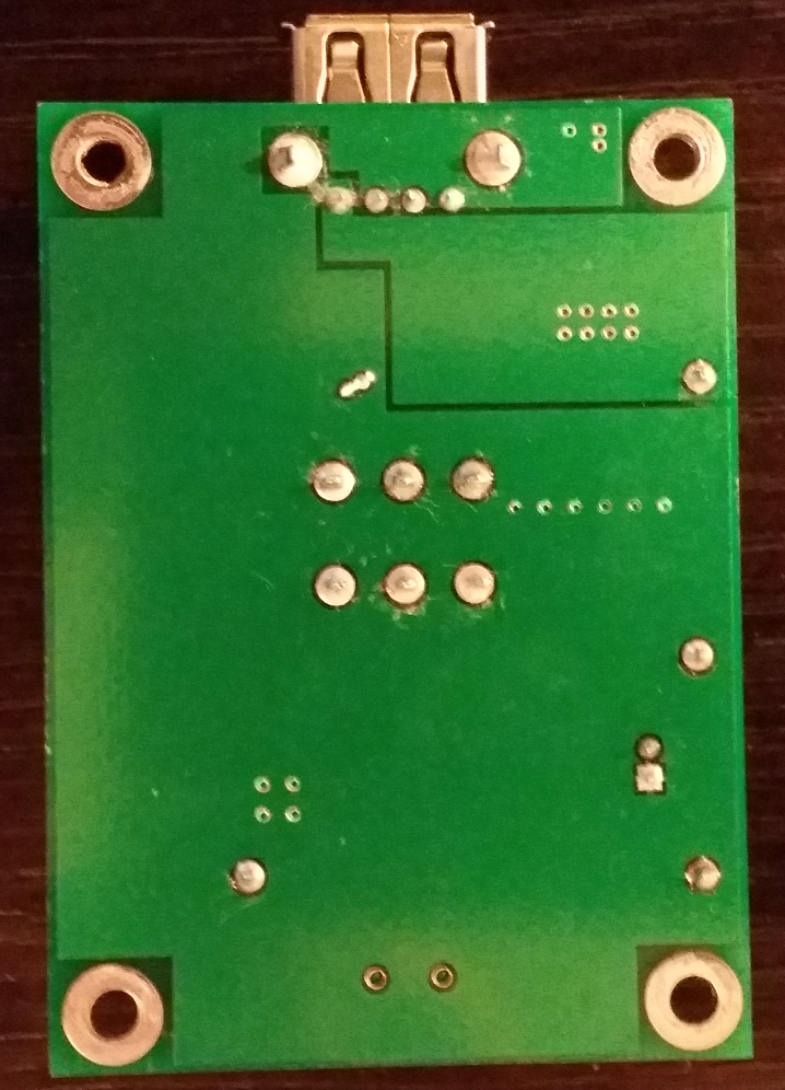 Charger PCB, Bottom