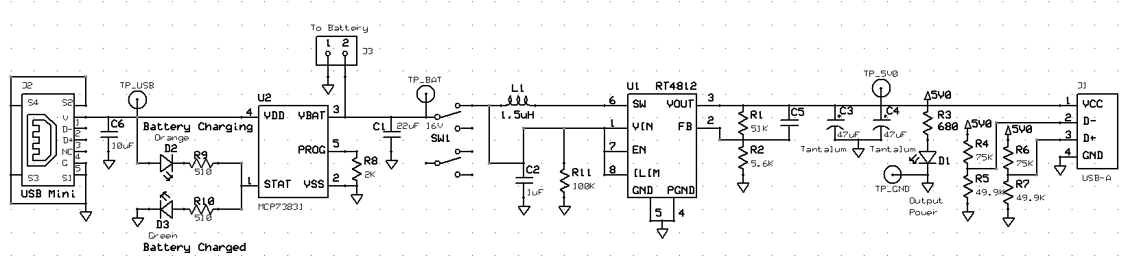 Charger Schematic