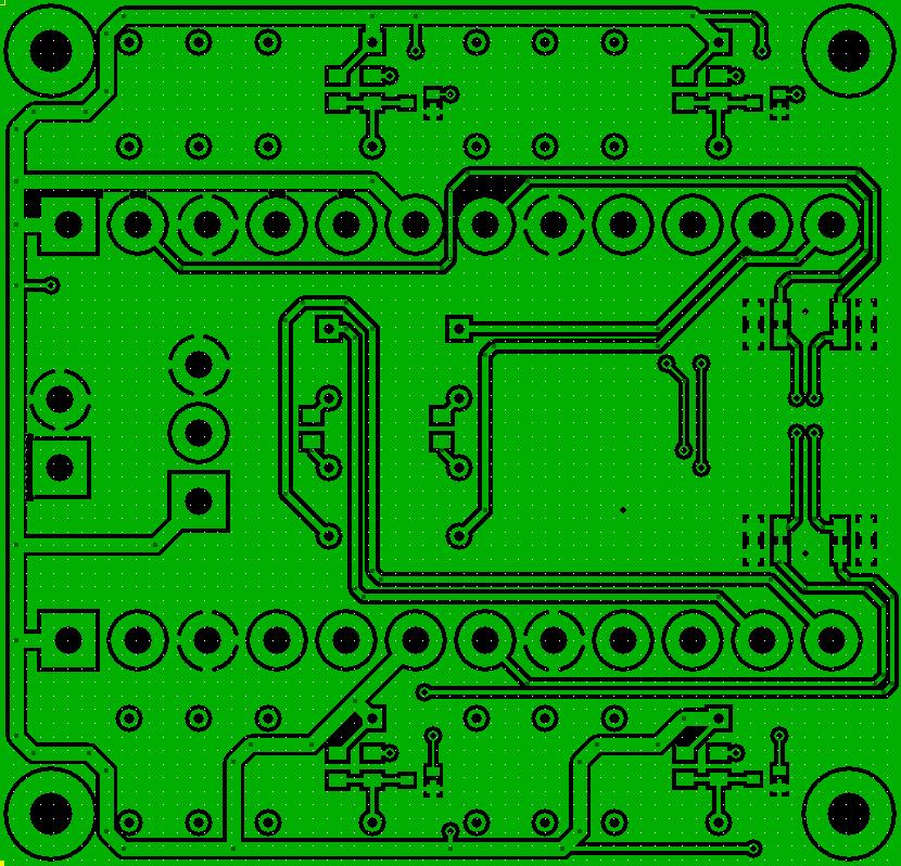 IO PCB Bottom Layer