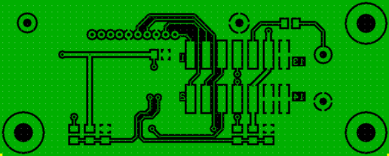 HMI PCB Bottom Layer