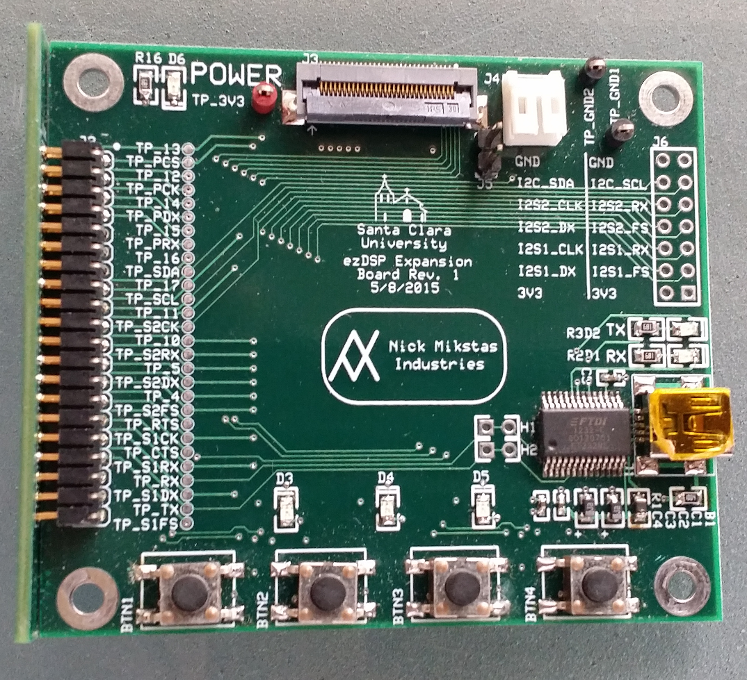 Expansion PCB top