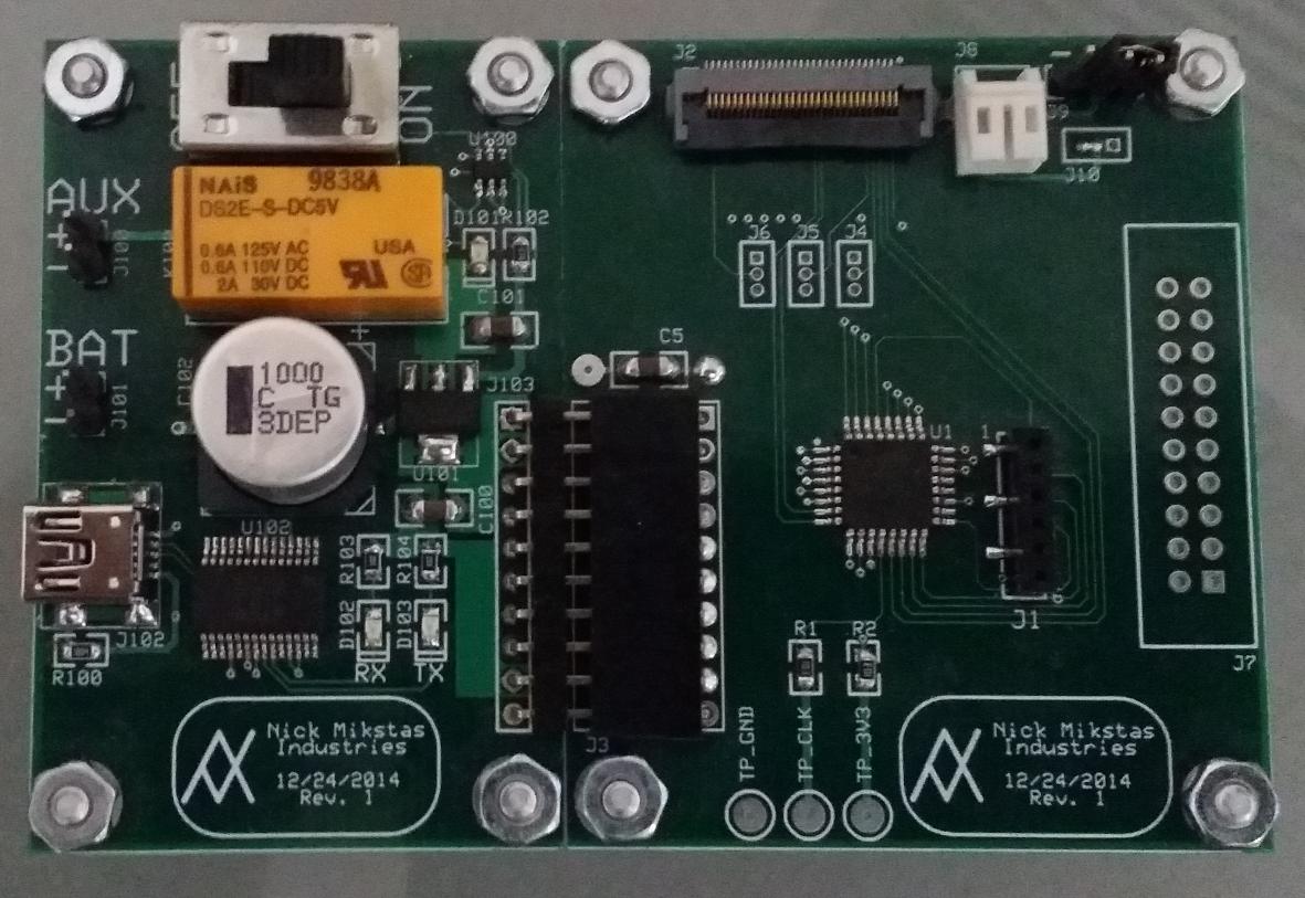 LCD PCB Top