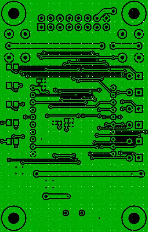 Zigbee Carrier PCB Bottom Layer