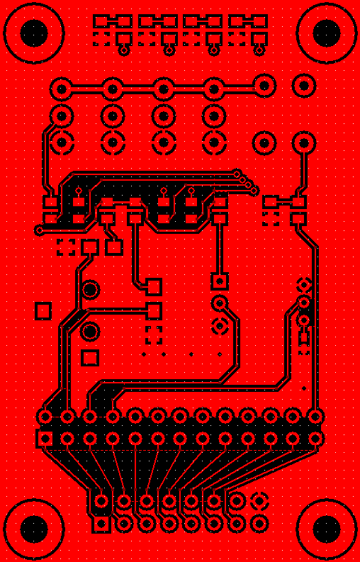 Zigbee Expansion PCB Top Layer