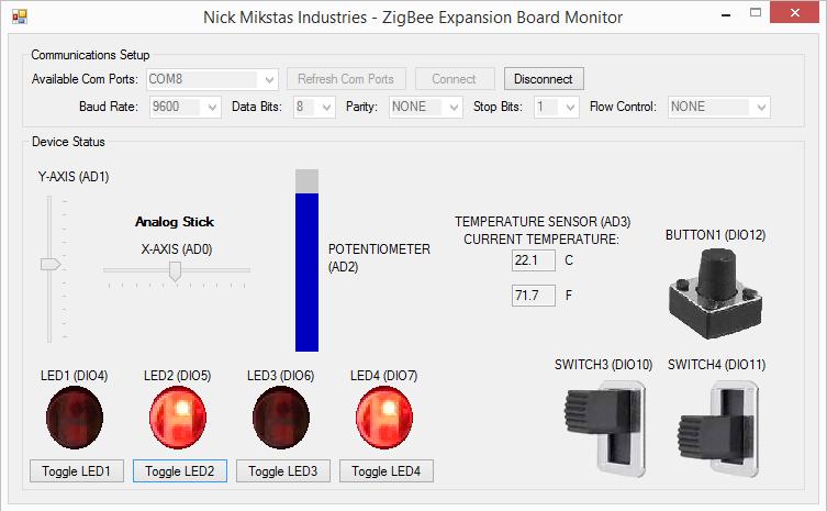 Zigbee Monitor Software, C# Version