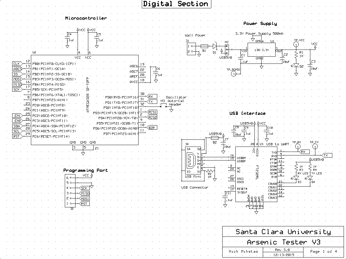 Potentiostat Schematic Page 1
