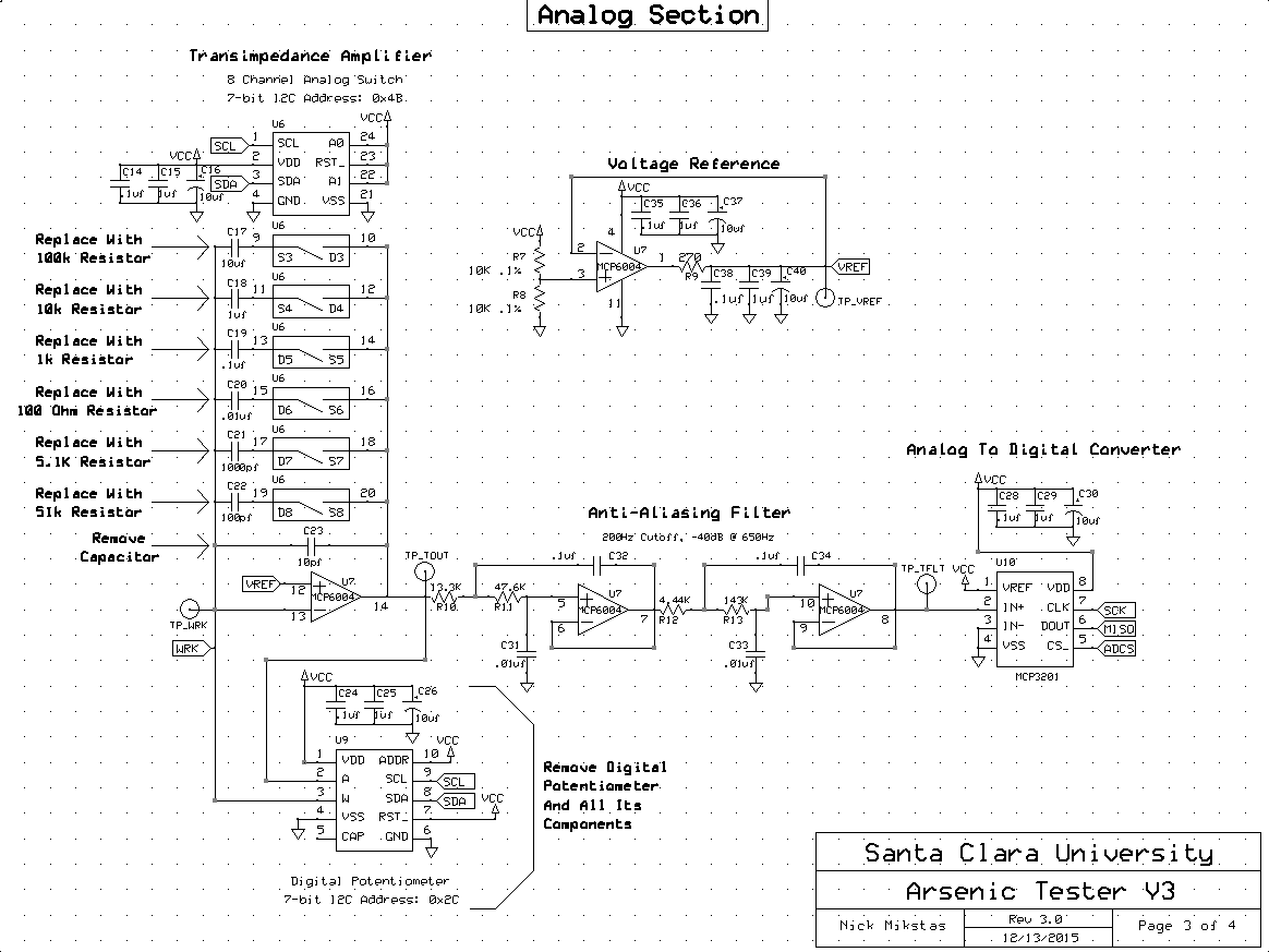Potentiostat Schematic Page 3